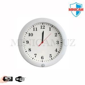 WiFi Настенные часы со скрытой камерой № 2