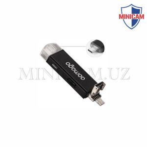Мини диктофон USB-флешка + Type C (Модель B)